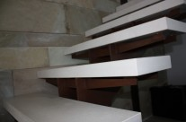 Scala in marmo